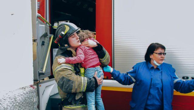 Пожар в многоэтажке Севастополя: как спасали детей и взрослых