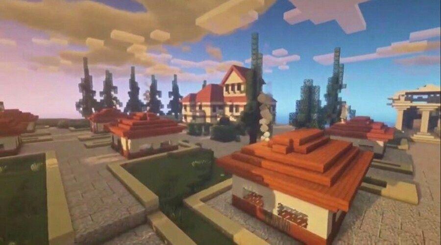 В компьютерной игре «Майнкрафт» появился Херсонес Таврический