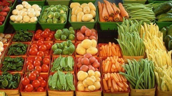 Рекомендуемые цены на отдельные виды овощей и фруктов