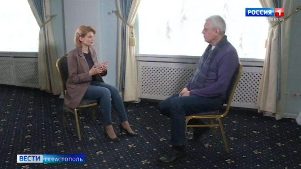 Александр Галибин поделился воспоминаниями, связанными с Крымом