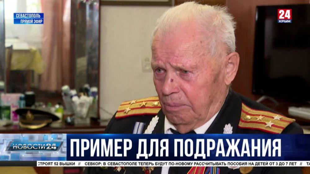 Жить ради Победы. Ветерану Великой Отечественной войны Леониду Чернову исполнилось 95 лет
