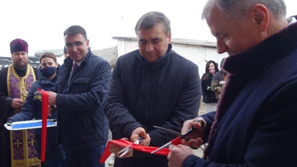 Андрей Рюмшин принял участие в торжественном открытии пожарной части в пгт Научный Бахчисарайского района