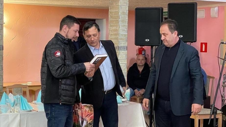 Сегодня в Бахчисарае прошло мероприятие, посвященное 200-летию национальной освободительной борьбы, революции греков за независимость греческой республики