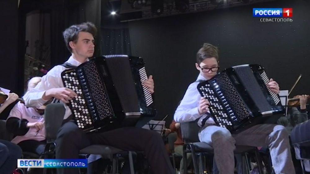 Юные таланты 31 марта выступят с Севастопольским симфоническим оркестром