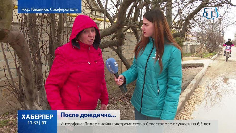 В Каменке улица Братьев Ивановых утопает в лужах