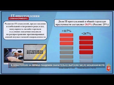 В Севастополе за время пандемии выросло число мошенничеств – Гищенко