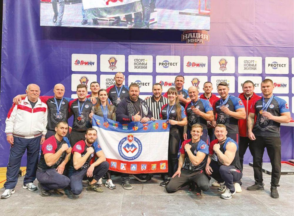 Сборная Крыма на чемпионате России завоевала коллекцию наград