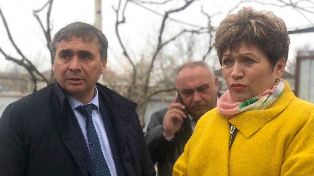 Андрей Рюмшин принял участие в торжественном открытии водопровода в селе Нахимово Красногвардейского района