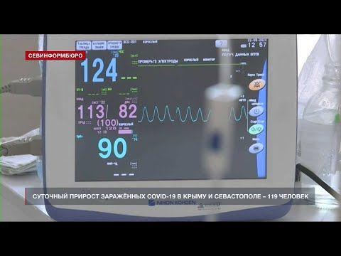 В Севастополе за сутки коронавирусом заболели 44 человека, один умер