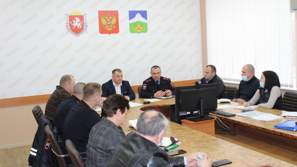 Андрей Пирогов провел заседание комиссии по обеспечению безопасности дорожного движения