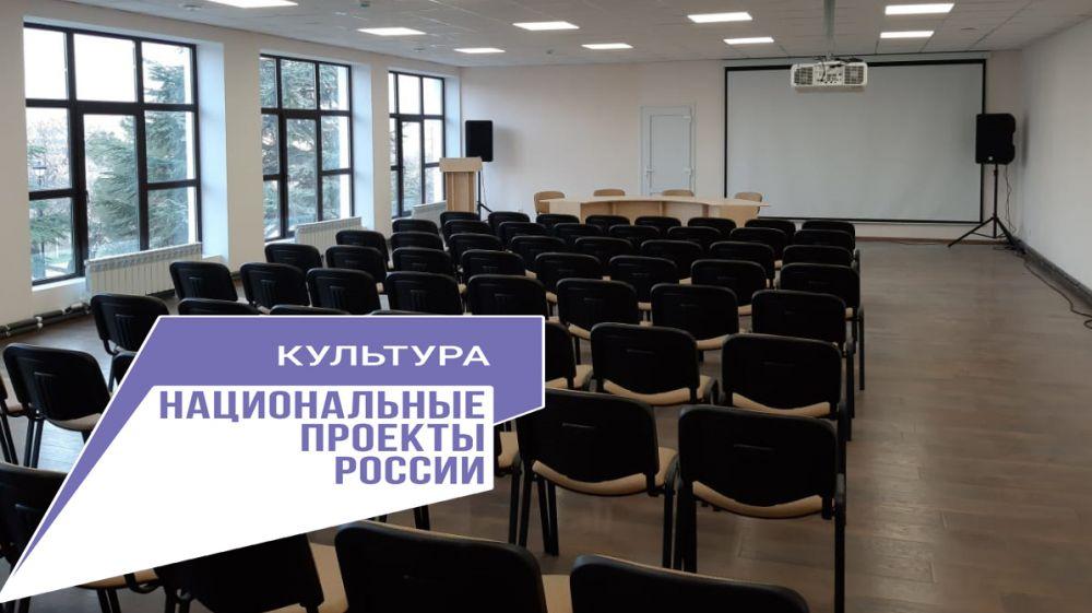 В рамках нацпроекта «Культура» в Судаке будет открыт виртуальный концертный зал