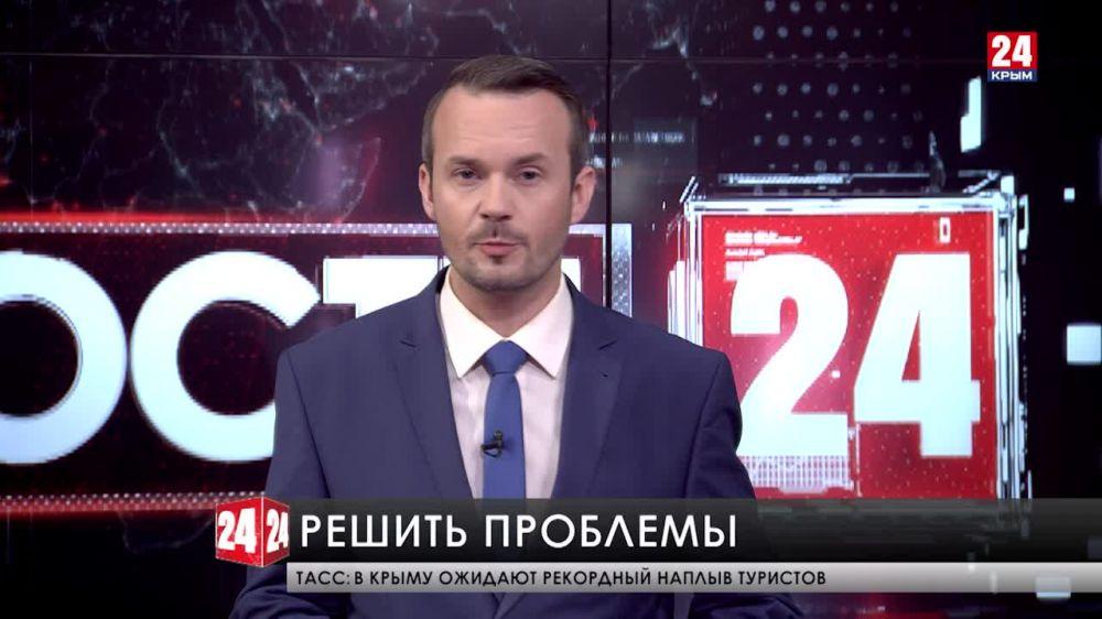Сергей Аксёнов провёл рабочую встречу с уполномоченным по защите прав предпринимателей в Крыму
