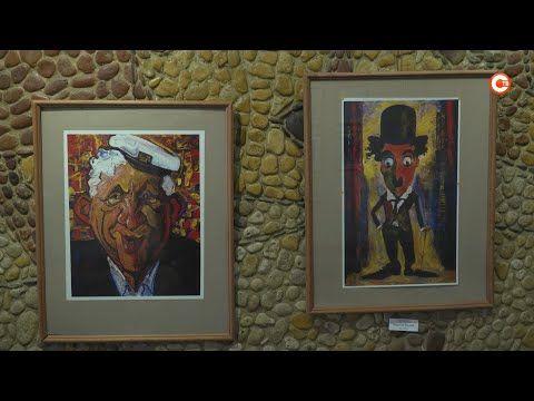 В Севастополе открылась выставка карикатур и ироничного рисунка (СЮЖЕТ)