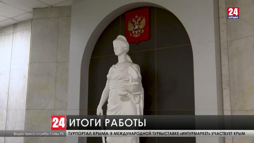 Глава Крыма провёл совещание по итогам работы судов общей юрисдикции за 2020-й год