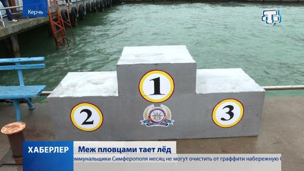 Апрельские заплывы: в Керчь «слетелись» моржи со всей страны