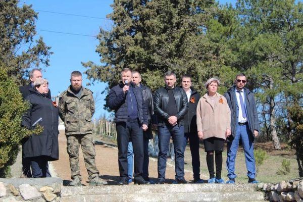 Георгий Шаповалов принял участие в Международной акции «Сад Памяти»