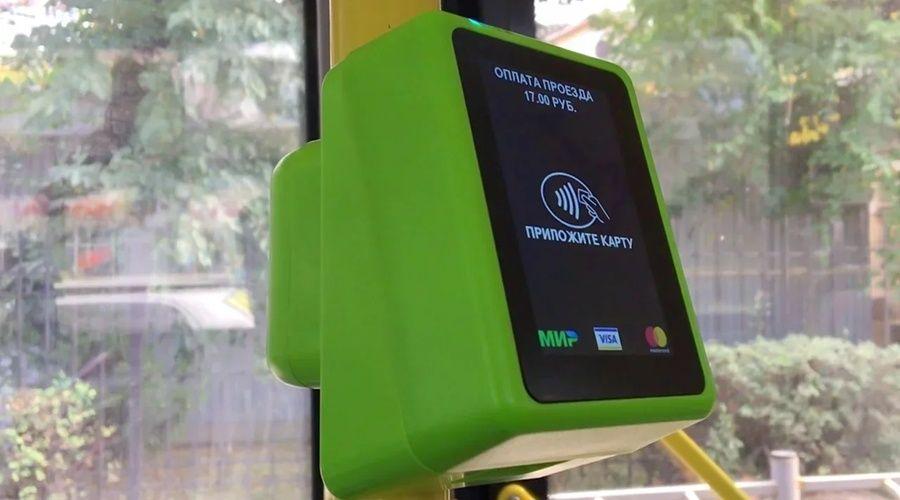 Более четверти крымчан используют банковские карты для проезда в транспорте