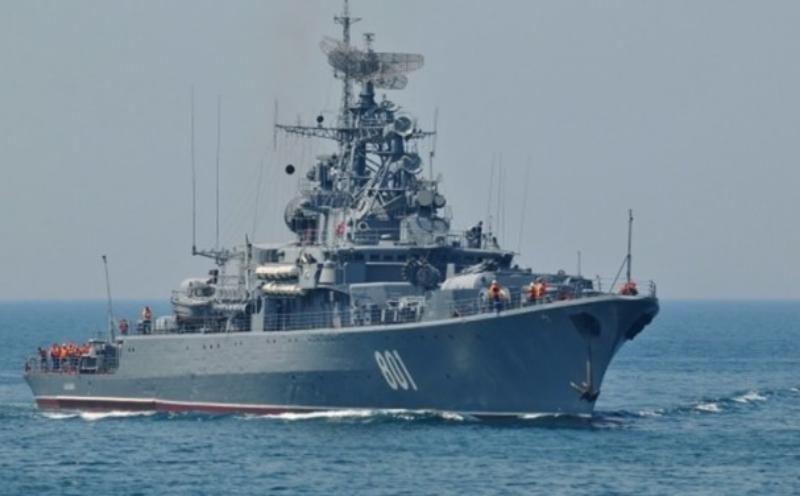 Сторожевой корабль «Ладный» Черноморского флота вышел в море после ремонта
