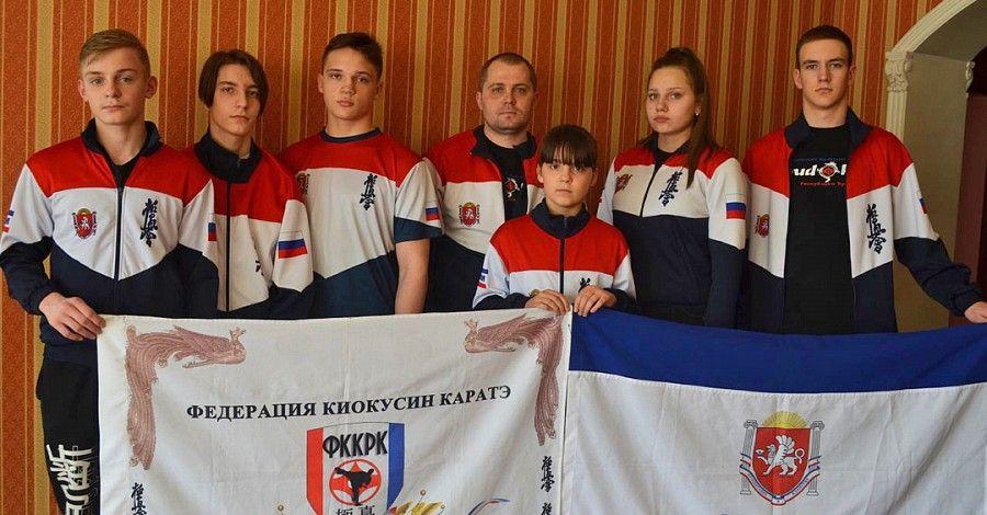 Семь медалей завоевали крымские каратисты насоревнованиях вНовокубанке