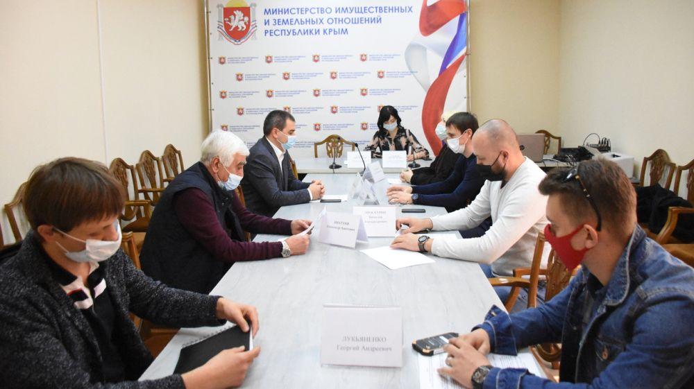 Состоялось плановое заседание Общественного совета при Министерстве имущественных и земельных отношений Республики Крым