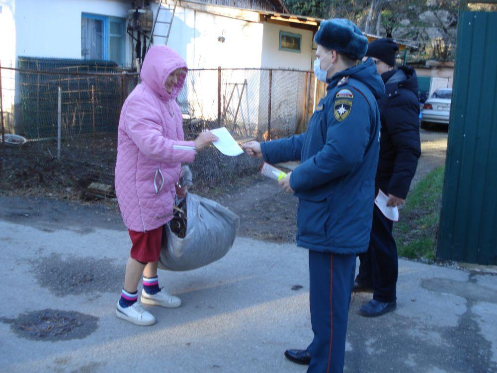 В жилом секторе Крыма продолжаются профилактические рейды