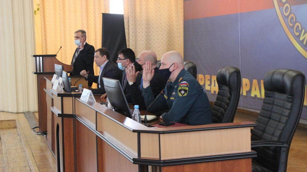 Состоялось заседание Эвакуационной комиссии Республики Крым