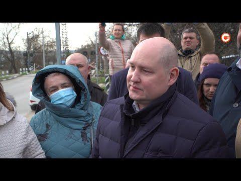 Михаил Развожаев успокоил Инкерман (СЮЖЕТ)