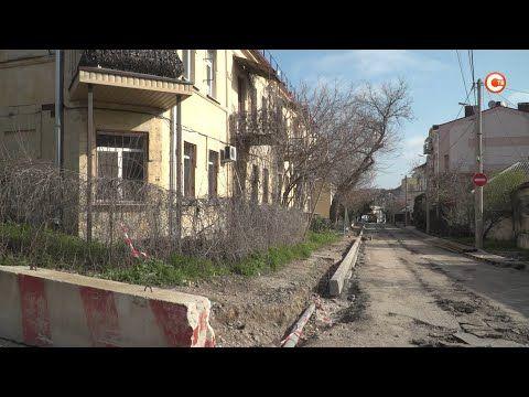 Ремонт водовода и дороги начали на улице Годлевского (СЮЖЕТ)