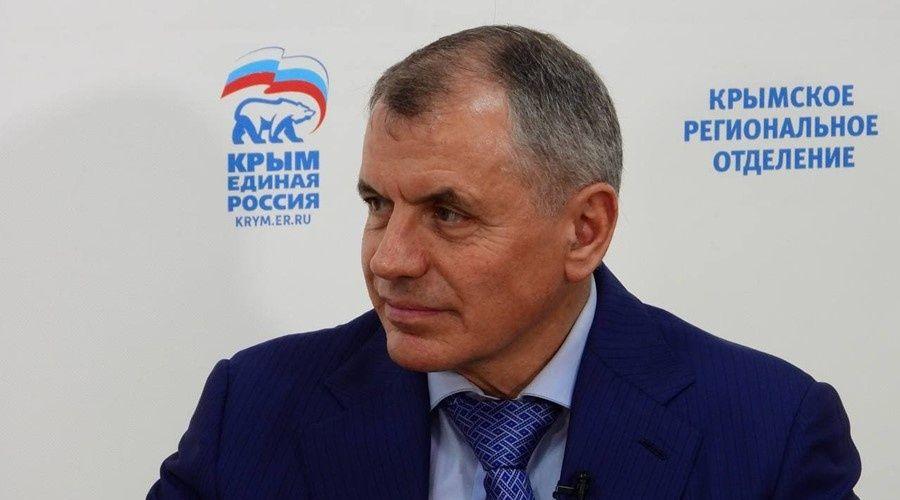 Аксёнову предложат возглавить крымский список «Единой России» на выборах в Госдуму