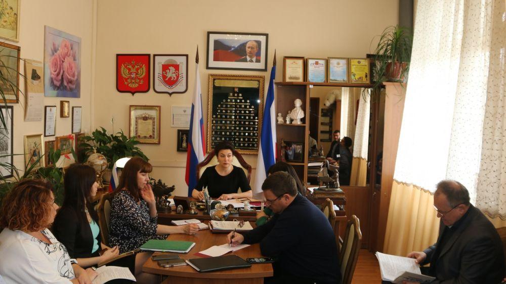 Арина Новосельская провела рабочее совещание, посвященное реализации приоритетных задач по направлениям деятельности отрасли культуры и искусств