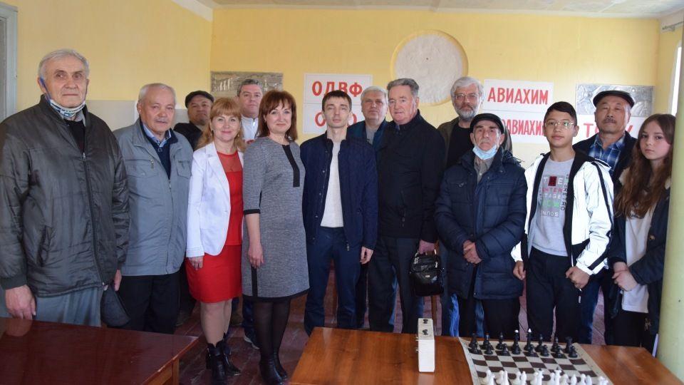 В Красногвардейском районе развивается шахматный спорт