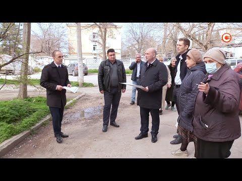 На проспекте Гагарина в Севастополе отремонтируют внутриквартальные проезды (СЮЖЕТ)