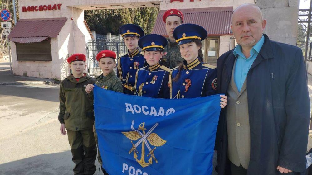 Ялтинские курсанты и кадеты встретились с Героем России Евгением Шендриком