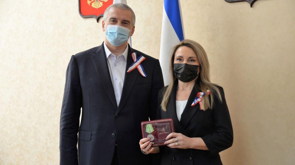 Светлана Лужецкая награждена государственной наградой