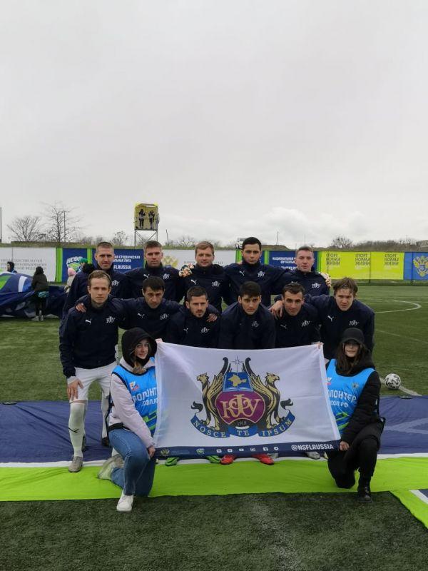 Крымские футболисты разгромили студентов из Нальчика