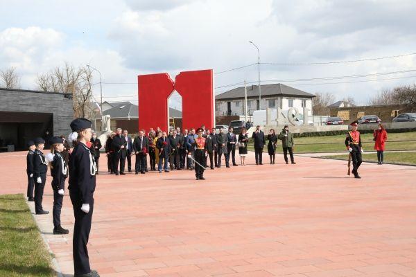 """В """"Красном"""" почтили память жертв фашистского террора"""