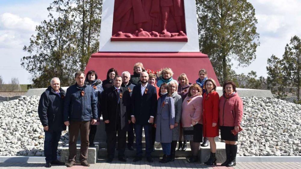 В Красноперекопском районе отметили 77 годовщину со Дня освобождения района от немецко-фашистских захватчиков