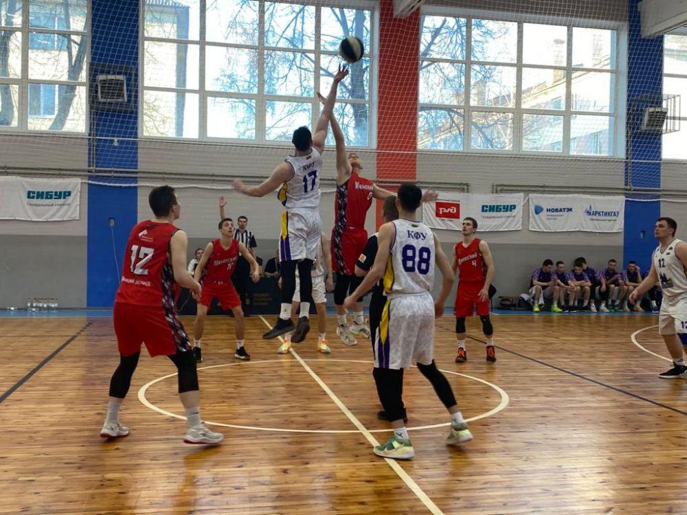 Крымские баскетболисты уступили в Нижнем Новгороде