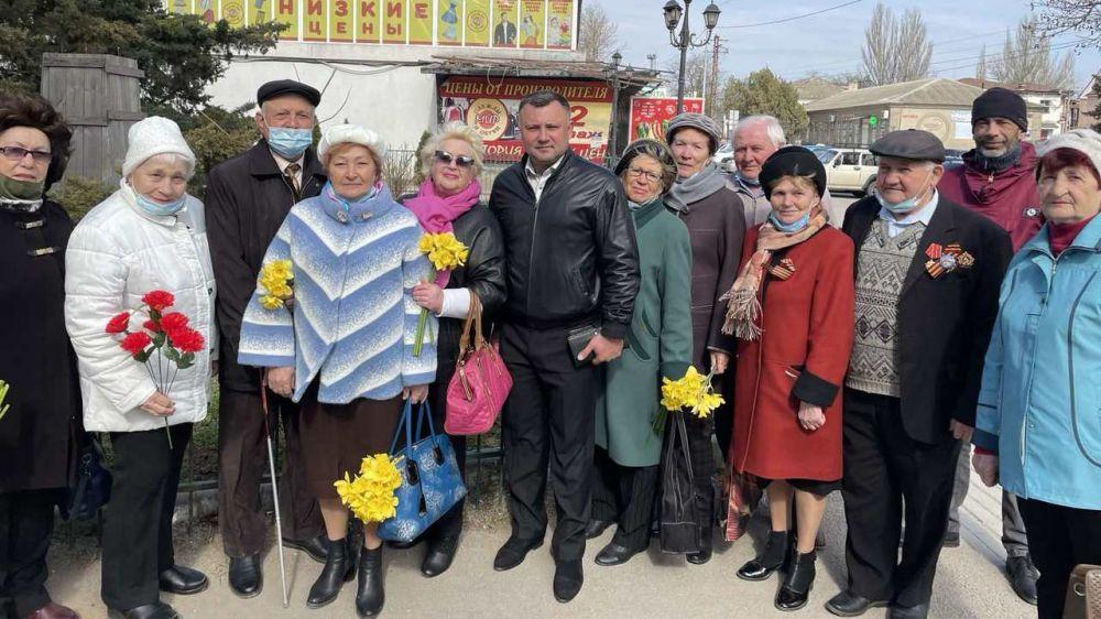 Депутатский корпус почтил память освободителей города Джанкоя