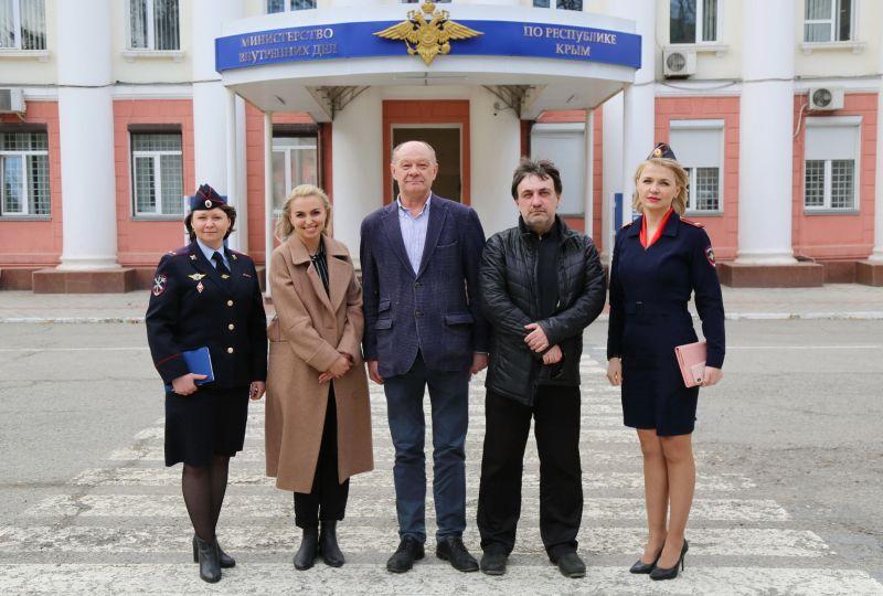 Крымские полицейские и общественники планируют проведение в регионе социальных акций с участием активной молодежи