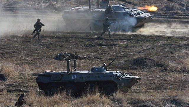 """Мотострелки ЧФ """"отразили"""" нападение из засады в горах Крыма"""