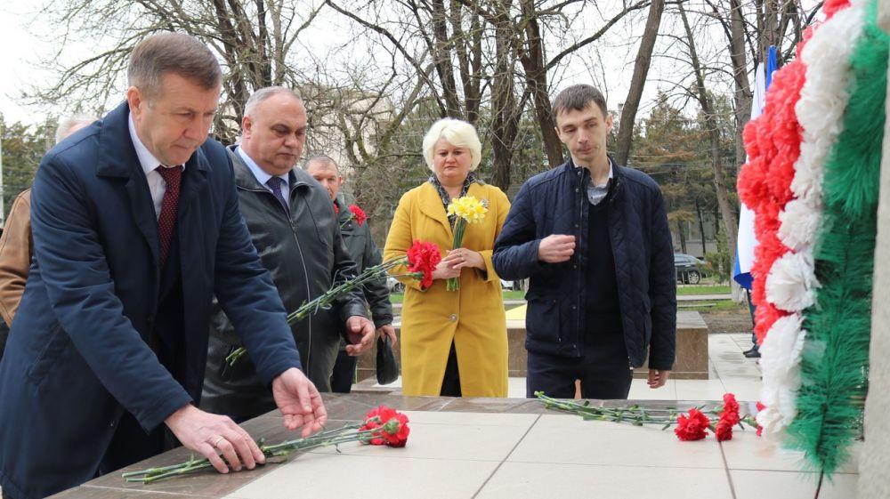 Красногвардейцы отметили 77 годовщину освобождения района