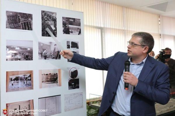 В крымском парламенте презентовали проект реконструкции концлагеря в совхозе «Красный»
