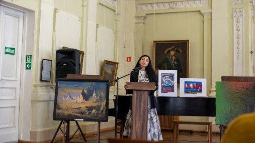 На нескольких площадках Симферопольского художественного музея прошли креативные акции междисциплинарного арт-проекта