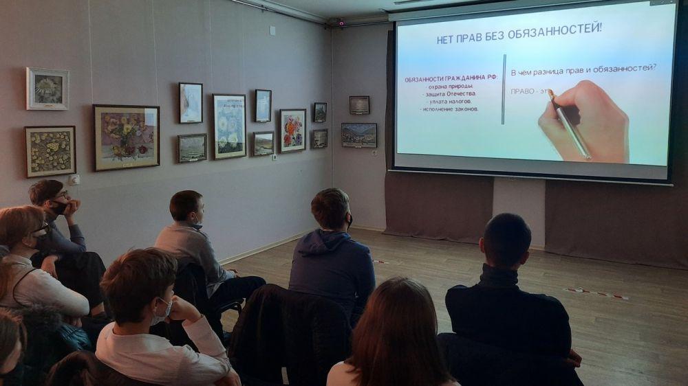 Крымские учреждения сферы культуры провели цикл мероприятий, посвященных Дню Конституции Республики Крым