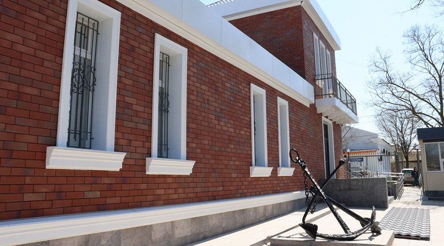 Черноморский археологический музей в Крыму отремонтировали за 13 млн руб