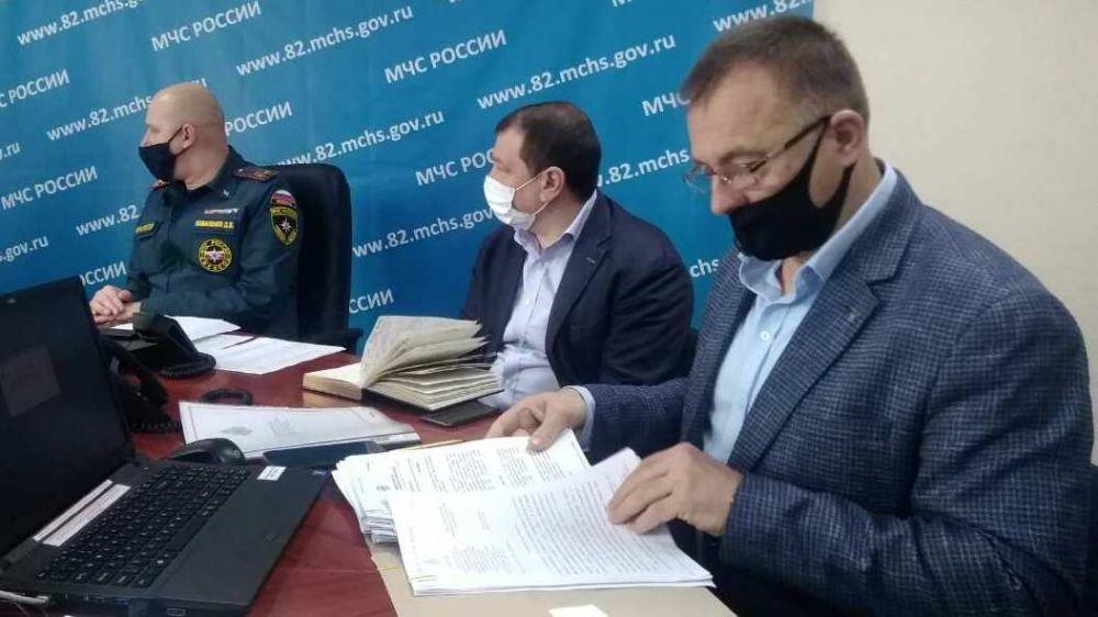 В Крыму стартовало командно – штабное учение с органами управления и силами единой государственной системы предупреждения и ликвидации чрезвычайных ситуаций (РСЧС)