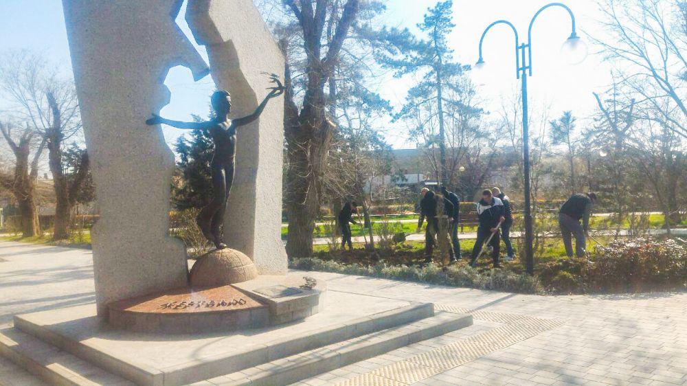 Озеленение мемориальных комплексов жертвам Чернобыльской катастрофы