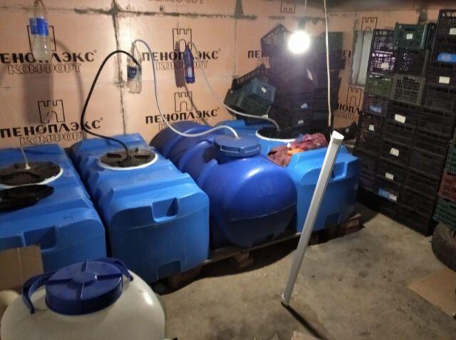 Сотрудники полиции изъяли две тонны контрафактного алкоголя в Евпатории