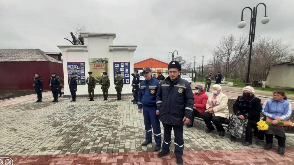 В с. Садовое Нижнегорского района открыт Мемориальный комплекс в память о партизанах и красноармейцах